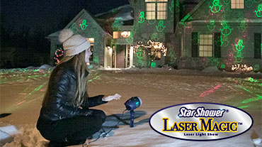 Star Shower® Laser Magic® Video